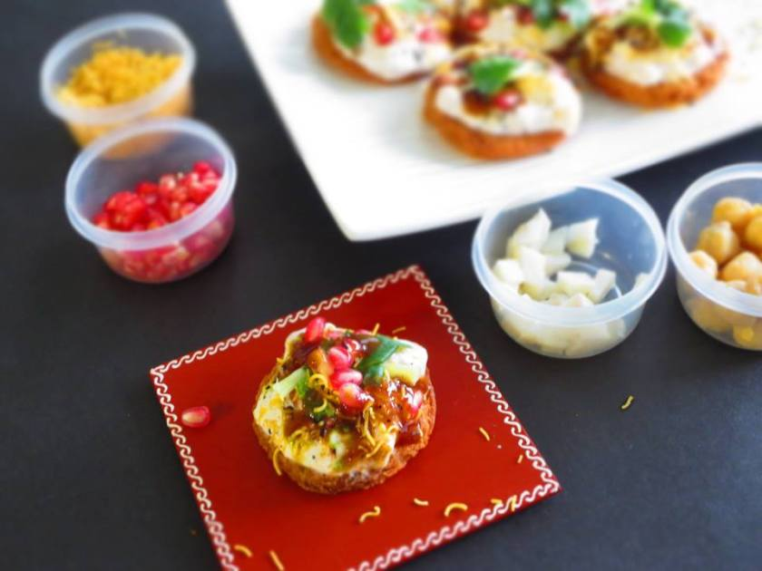 bread papdi chaat 2
